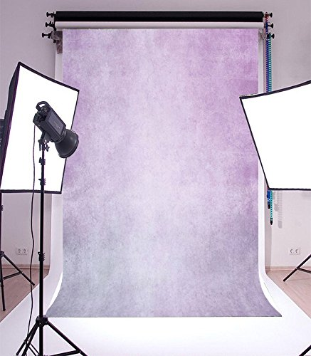 5X7FT Laeacco Vinyl Thin Backdrop Photography Background Solid Color Light Purple Dreamlike Scene Backdrops for Photo Studio Props 1.5x2.2M