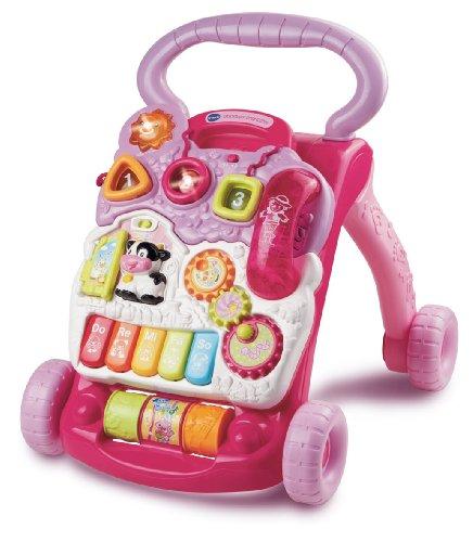 Vtech Baby - Spiel- und Laufwagen Pink - Englische Sprache