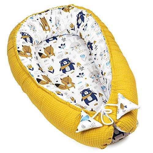 nido bebe recien nacido - reductor de cuna nidos para bebes cojin colecho gris