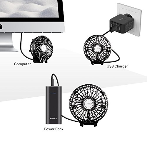 EasyAcc『手持ち充電式USB扇風機』