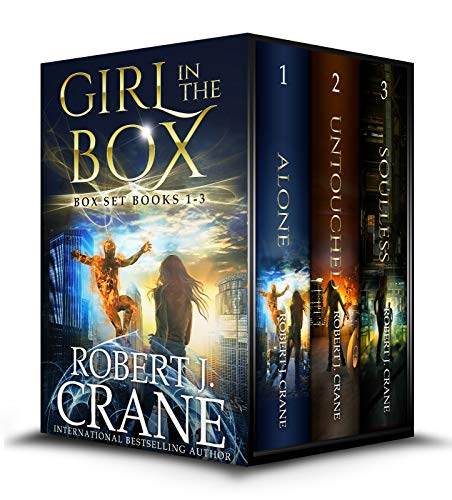 The Girl in the Box Series, Books 1-3: Alone, Untouched and Soulless by [Robert J. Crane]