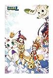 Puzzles Hijos Adultos Rompecabezas de Madera 300/500/1000/1500 Piezas Regalo Animado Dibujos Animados Digimon Japanese Collection (Color : D, Size : 300p)