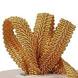Old Gold Gimp Braid Trim 5/8' X 10 Yards