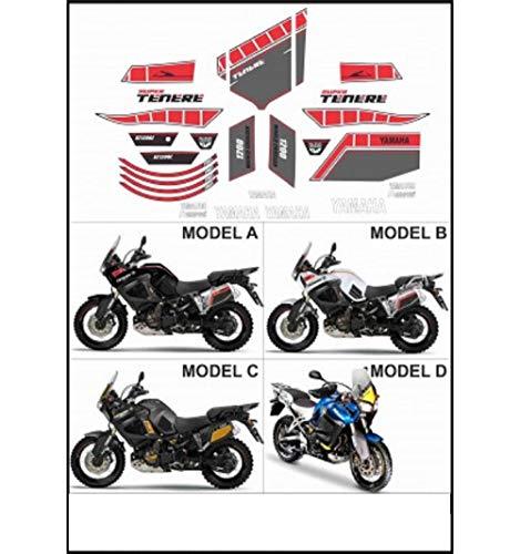 Kit adesivi decal stikers compatibile XT 1200 Z SUPER TENERE WORLD CROSSER 2010 2013