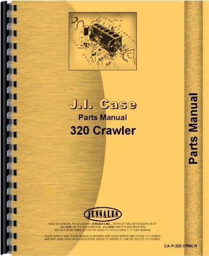 Case 320 Crawler Parts SN# Long Beach San Jose Mall Mall 30000D1-3008132 Manual