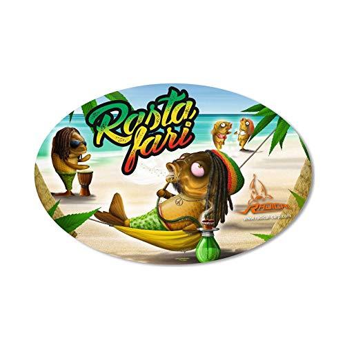 Radical Aufkleber Rastafari 14,5cm x 9,5cm