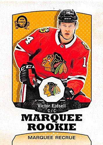 2018-19 O-Pee-Chee Retro #517 Victor Ejdsell Chicago Blackhawks (18-19 UD OPC Hockey Card)