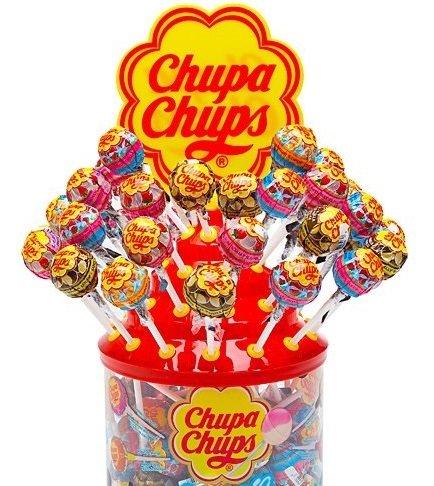 Chupa Chups Cremosa Lollipops 60 Count Assortment