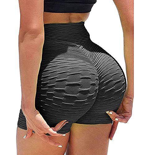 Joligiao Shorts Pantalones Deportes Mujer Pantalones Cortos Deportivos de Fitness Mallas para Mujer Pantalones Elevación de Cintura Alta Caderas Entrenamiento para Correr Gimnasio Gym