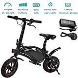 350W Folding Electric Bicycle with 15Mile Range...