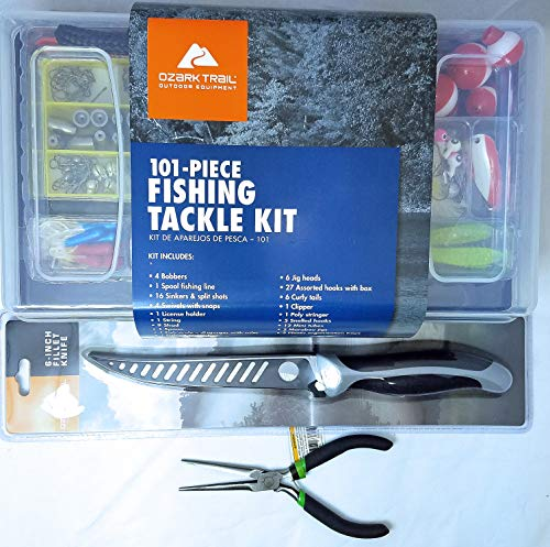 Ozark Trail Grab 'N' Go Fishing 101 Piece Tackle Box