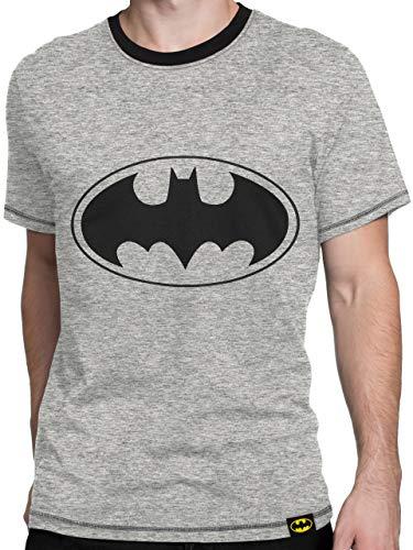 DC Comic - T-Shirt - Batman - Homme - Grau - Medium