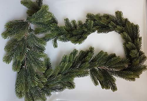 Ghirlanda natalizia verde 180 cm