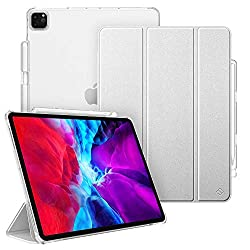 👍[Perfect Fit] -- Exclusively designed for iPad Pro 12.9 inch 4th Generation 2020 (A2229/A2069/A2232/A2233) / iPad Pro 12.9 inch 3rd Gen 2018 (A1876/A2014/A1895). ❌❌❌Not compatible with any other devices. 👍[Apple Pencil Compatible] -- Seamlessly supp...