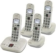 CLARITY 59470.000 D712 + 3 D702HS / DECT 6.0 technology / CLARITY-D712C3 /