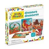 ORB Sticky Mosaics Dinosaurs , Green/Brown/Orange/Blue , 12' x 2' x 10.75'