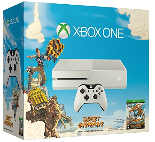 Console Xbox One white + Sunset Overdrive + Forza 5 : Racing - game of the year edition (Full Game Download) [import anglais]