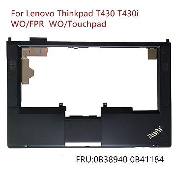 New for Lenovo Thinkpad T490S Palmrest Upper Case Keyboard Bezel KB