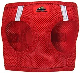 DOGGIE DESIGN American River Ultra Choke, Free Mesh Dog Harness, Red, 3X-Large