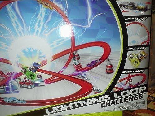 Lightning Loop Challenge Shock Racers by Jakks Pacific