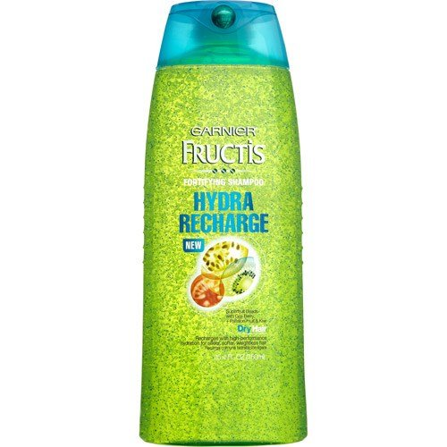 Garnier Fructis Hydra Recharge Fortifying Shampoo 25.40 oz (Pack of 4)