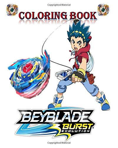 COLORING BOOK: BEYBLADE