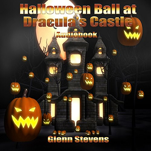 Halloween Ball at Dracula's Castle audiobook cover art