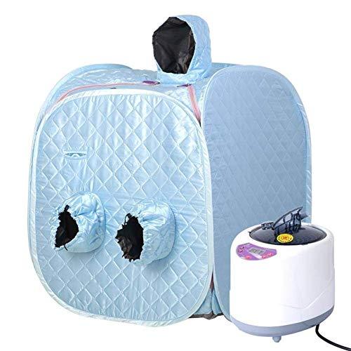 Productos para el hogar Cama plegable Almacenamiento fácil Portátil Ligero Sauna de vapor plegable SPA Función emergente Vaporizador Desintoxicación corporal Pérdida de peso Adelgazamiento Sauna de