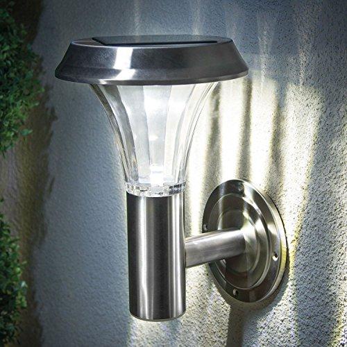 Lanternes solaires murales rechargeables de haute qualité pour jardin, terrasse.