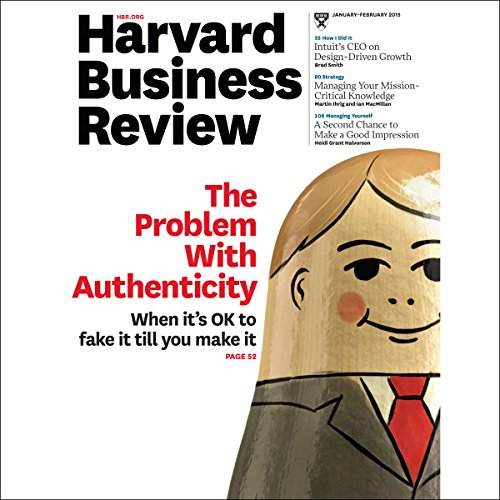 Harvard Business Review, January 2015 audiobook cover art