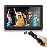 Digitaler Fotorahmen 1280x800 Hochauflösender elektronischer Bilderrahmen 16: 9 IPS HD-Display Foto- / Musik