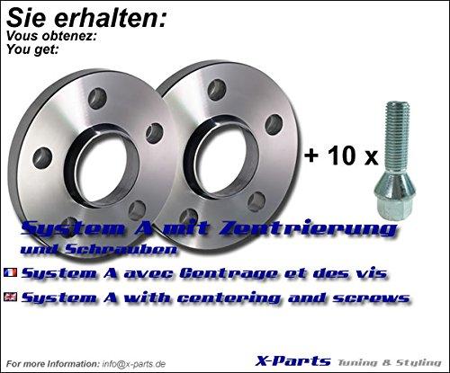 Separadores 5X112 57.1 20Mm Marca X-Parts