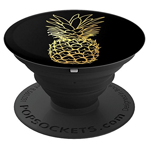 Pineapple Aloha Beaches Hawaiian Hawaii Cool Summer Gifts PopSockets Grip and Stand for Phones and Tablets