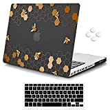 MacBook Pro 13 inch Case,iCasso Rubber Coated Hard Shell Plastic Protective Case Cover