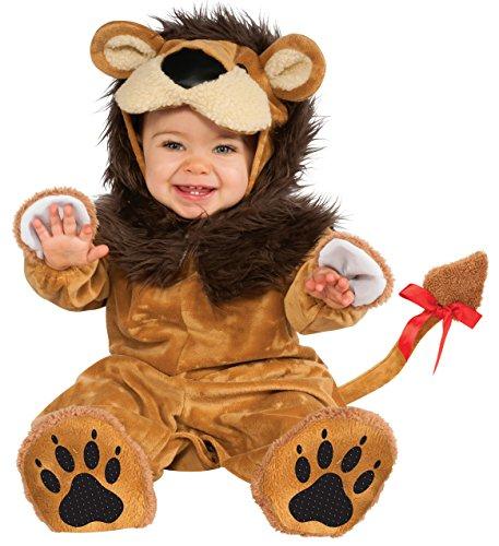 Cuddly Jungle Lil Lion Romper Costume