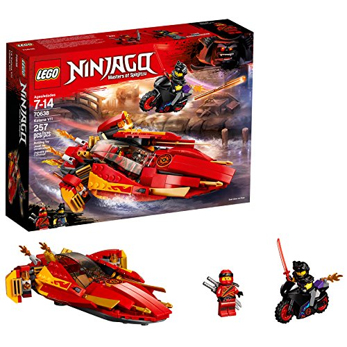 LEGO NINJAGO Katana V11 70638 Building Kit (257 Pieces) (Discontinued by Manufacturer)