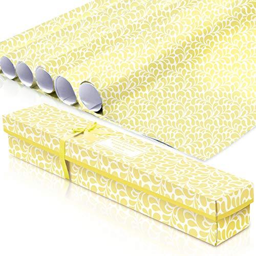 LA BELLEFÉE Scented Drawer LinersScented Drawer Liners, Fresh Scent Paper Liners for Drawers, Cabinet, Dresser Shelf, Linen Closet,Better for Kitchen, Bathroom, Vanity (6 Sheets)(Vanilla)