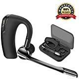 Oreillette Bluetooth V5.0, Torondo Oreillette Bluetooth Sans Fil Wireless Headset Kit...