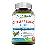 Pure Naturals Olive Leaf Extract 500 mg 120 Vegi Capsules