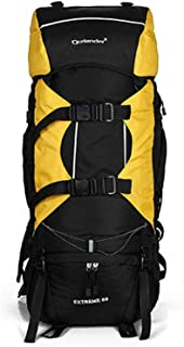 TY-Outdoor backpack MMM @ Mochila de Alpinismo Coco 80L Mochila Ligera Impermeable para Deportes al Aire Libre Pesca en Camping Esquí de Ciclismo, Escapada rápida a la Derecha Mochila