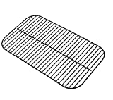 Zljiont Porcelain Steel Wire Backyard Grill BY13-101-001-11 Gas Grill Cooking Grid Replacement (14 7/16' x 24 13/16')
