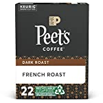 Peet's coffee dark roast single serve kcup, chalet blend, 60 count 8 french roast: the rich coffee character of french roast comes from a longer, hotter roast, which not all beans can handle and only peet's has perfected. Flavor notes: coffee-forward, wood smoke, and burnt caramel blends for all tastes: single serve doesn't mean single taste. Whether you enjoy starting each morning with peet's dark roast house blend, our light roast café domingo, or you prefer a variety, you can keep your morning routine without brewing a whole pot same care, same coffee: the coffee in peet's k-cups for your keurig brewing system is the same quality coffee, roasted with the same care, as our bagged coffee. Enjoy the convenience of a single cup of fresh coffee with the taste & quality of peet's