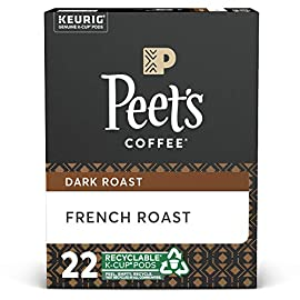 Peet's coffee dark roast single serve kcup, chalet blend, 60 count 4 french roast: the rich coffee character of french roast comes from a longer, hotter roast, which not all beans can handle and only peet's has perfected. Flavor notes: coffee-forward, wood smoke, and burnt caramel blends for all tastes: single serve doesn't mean single taste. Whether you enjoy starting each morning with peet's dark roast house blend, our light roast café domingo, or you prefer a variety, you can keep your morning routine without brewing a whole pot same care, same coffee: the coffee in peet's k-cups for your keurig brewing system is the same quality coffee, roasted with the same care, as our bagged coffee. Enjoy the convenience of a single cup of fresh coffee with the taste & quality of peet's