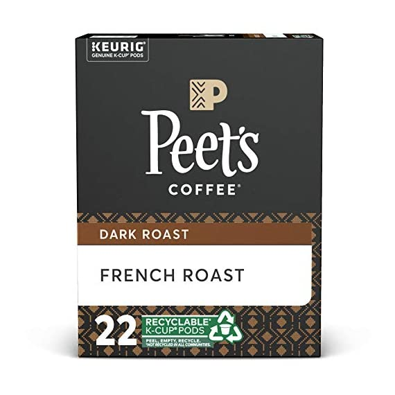 Peet's coffee dark roast single serve kcup, chalet blend, 60 count 1 french roast: the rich coffee character of french roast comes from a longer, hotter roast, which not all beans can handle and only peet's has perfected. Flavor notes: coffee-forward, wood smoke, and burnt caramel blends for all tastes: single serve doesn't mean single taste. Whether you enjoy starting each morning with peet's dark roast house blend, our light roast café domingo, or you prefer a variety, you can keep your morning routine without brewing a whole pot same care, same coffee: the coffee in peet's k-cups for your keurig brewing system is the same quality coffee, roasted with the same care, as our bagged coffee. Enjoy the convenience of a single cup of fresh coffee with the taste & quality of peet's