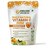 Himalayan Organics Daily Natural Vitamin C 700mg/Serve | Total Immunity Support | From