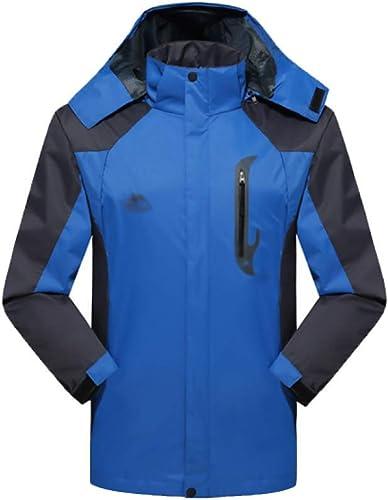 RLRL en Plein Air, Costume d'alpinisme, en Plein Air, Hommes, Veste, Cagoulé, Confortable, Coupe-Vent