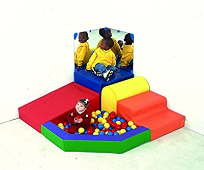 Children's Factory Mikayla's Mini Mountain, Toddler Climbing/Crawling Toys, Kids Indoor Play Equipment, Classroom Furniture for Homeschool/Playroom