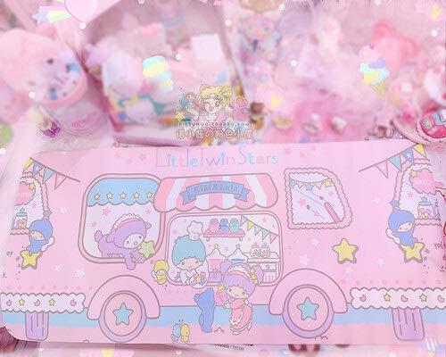 shuibaobao Alfombrilla de ratón con diseño de melodía de dibujos animados, ideal como regalo para niñas (color: gemelos)