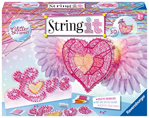 Ravensburger  18065 - String it Maxi: 3D-Heart