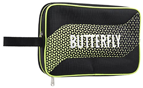 Buy Butterfly 8741G Melowa Fits Two Rackets and Four Ball Includes Four Pouches for Small Accessorie...